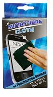 2 stk. Microfiber klude til touchscreens